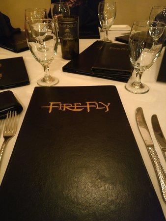 Firefly: Elegant Menu