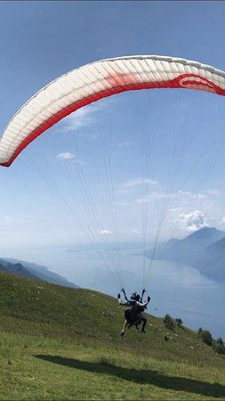 Tandem Paragliding Malcesine: Cobra take off