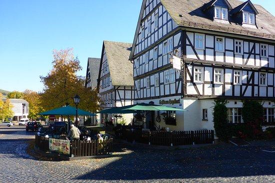 Hilchenbach, Germany: Schöne Lage am Markt.