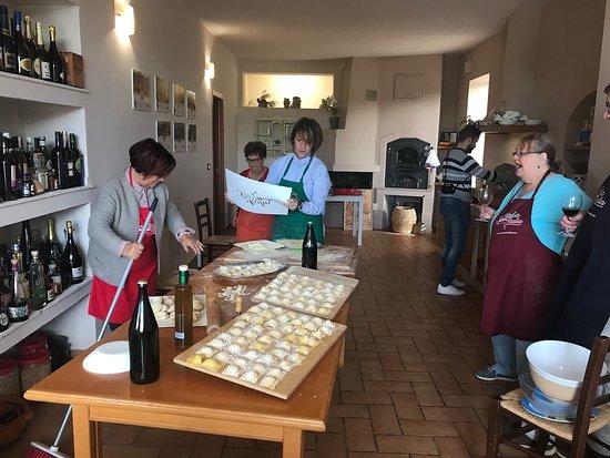 "Italia Sweet Italia: Ravioli making and other traditional ""stuffed"" dishes"