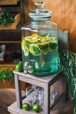 Бодрящий лимонад