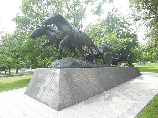 On the Roads of War Monument