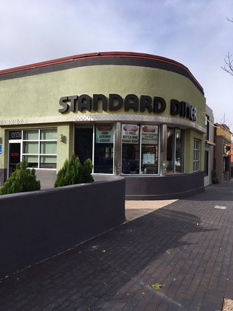 Standard Diner: Located on Central Ave...also known as Route 66!
