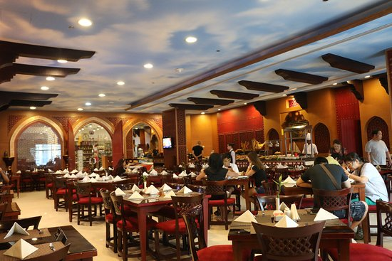 Emirati Restaurant with its Delicious and International Cuisines.