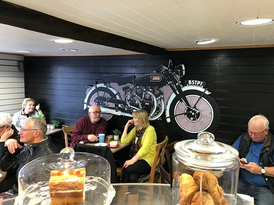 Image Bike Stop Cafe in East of England
