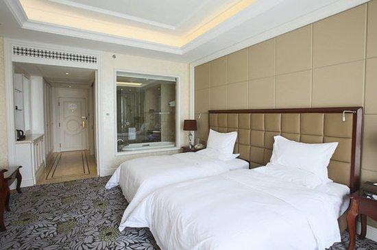 Zhangjiakou, China: Guest room