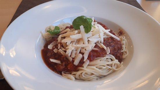 Stadt Wehlen, Duitsland: spaghetti bolognese