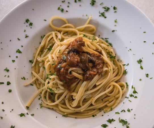 SIKULO Restaurant: Linguine ai ricci