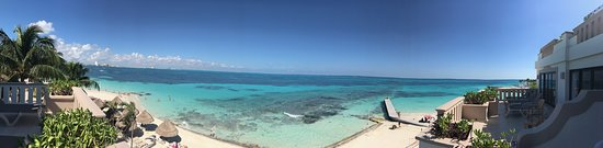 Panoramic shot from our balcony.
