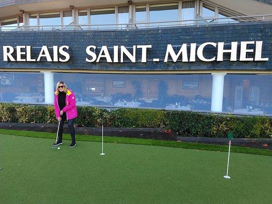 Le Relais Saint-Michel: Le meilleur minigolf du mont Saint Michel ce trouvé au Relais Saint Michel Hôtel 4*
