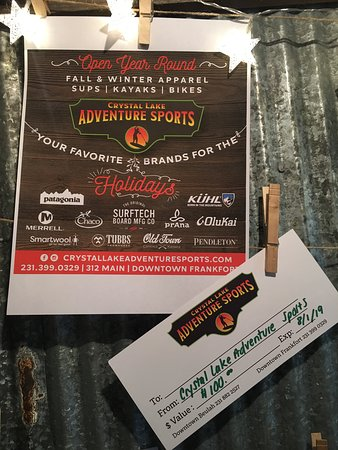 Crystal Lake Adventure Sports: ITS OUR HOLIDAY GIVEAWAY!  Like our Facebook page +Share this post + Comment your favorite outdoor activity and be entered to win a $100 gift certificate Drawing 12/22/18