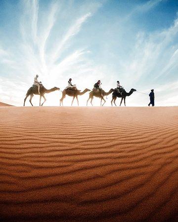المغرب لوحة