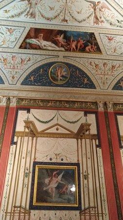 Palazzo Milzetti Museo Nazionale dell'eta Neoclassica in Romagna: Affresco di una sala .