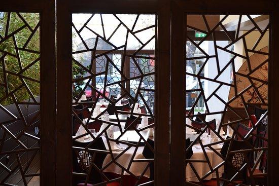 Jiang Nan Chinese Restaurant: Εσωτερικός χώρος.