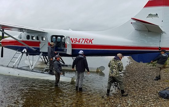 Great flight into Rainbow King Lodge on Lake Iliamna. RKL staff greets you warmly and gets you moved in without a fuss.  Great rooms, great people, great fishing!