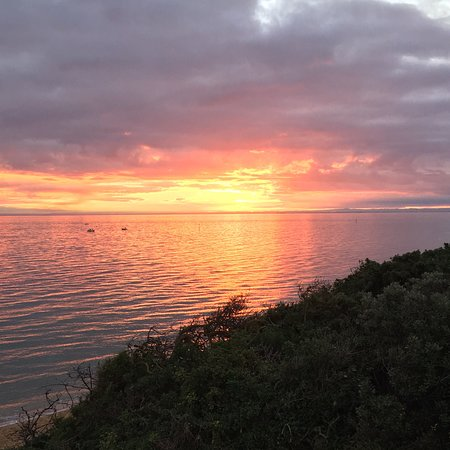 Bayside, ออสเตรเลีย: Sunset @ Black Rock LSC