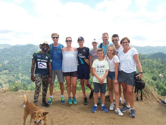 Katunayake, Sri Lanka: Top of Little Adam's Peak....