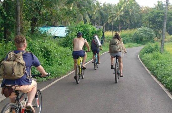 村のキャンプ旅行