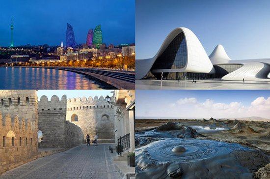 3 Nights 4 Days Baku Tour Package