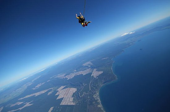 18,500 ft Skydive Experience in Taupo