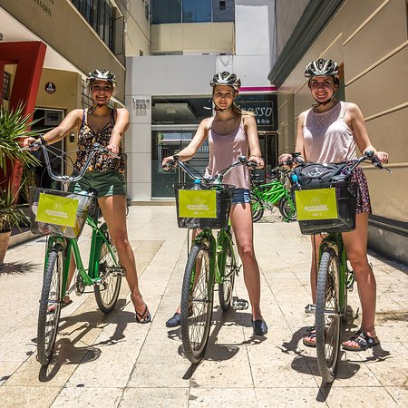 Bike around the city learing about our culture by tasting our flavours!