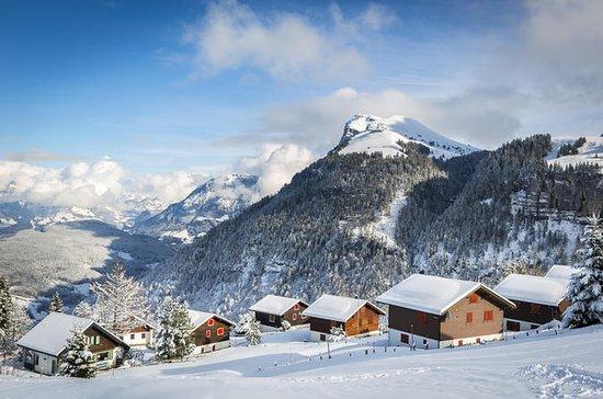 Lake Lucerne Alps vinter vandoplevelse