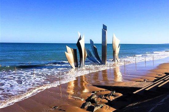 Les plages du débarquement et la ville...