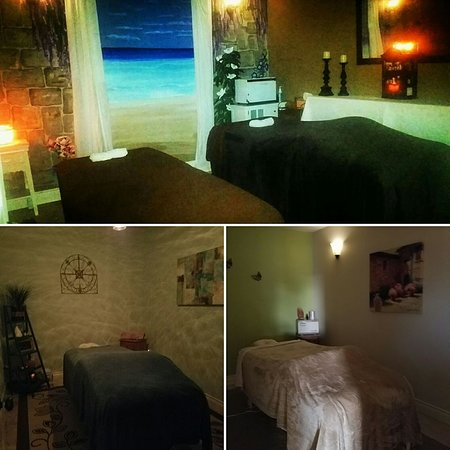 Inside Chrissy's Massage Studios in College Station, TX! Book online, friendly staff and great prices!