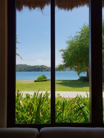 Fridays Puerto Galera: View from the lobby