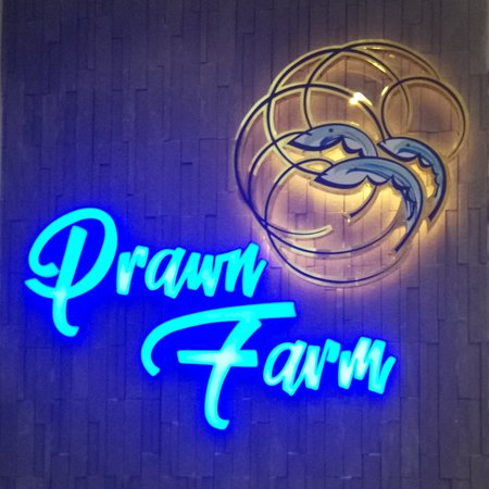The Prawn Farm: The new Prawn Farm Restaurant Logo Design      #onlyattheprawnfarm