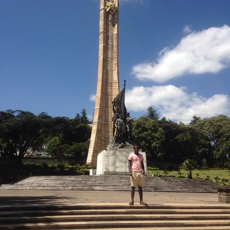 Omo National Park and River: Derg monument In Addis Ababa Ethiopia