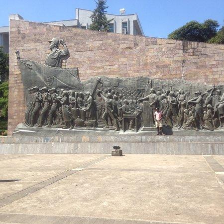 Derg monument In Addis Ababa Ethiopia