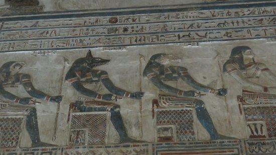 I colori del Tempio di Dendera