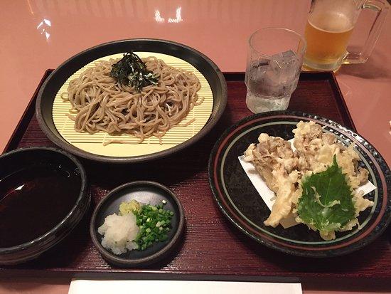 Hiba: 舞茸の天ぷら美味しい!