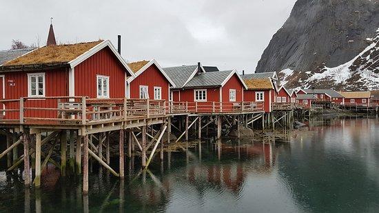 Le Lofoten, un paesaggio unico nel suo genere. A i Lofoten, Norvegia