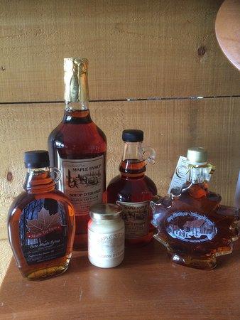 Tavistock, Kanada: Local Maple Syrup