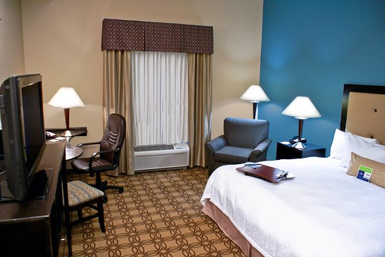 Hampton Inn and Suites Charlotte Airport: King Guest Room