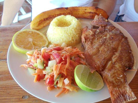 Pescado Frito en la Isla de Coche
