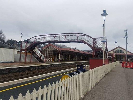 Aviemore, UK: The station
