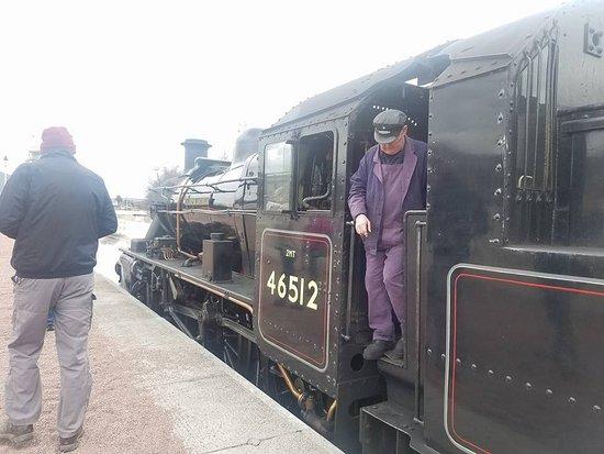 Aviemore, UK: Train
