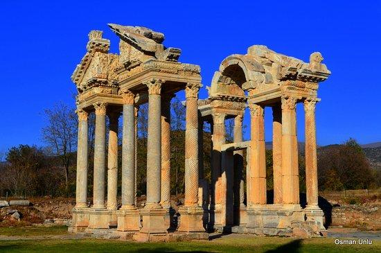 Geyre, Turkey: Aphrodisias Antik Kentinde tapınak