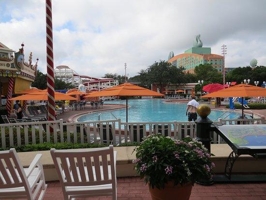 Disney's BoardWalk Inn : Pool area