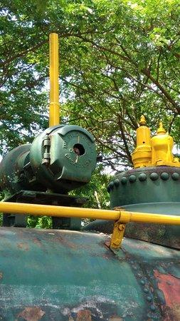 San Carlos City, Филиппины: Locomotive