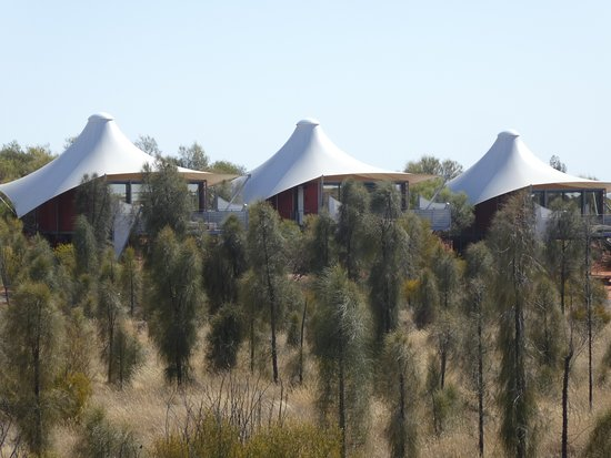 Longitude 131: the tents