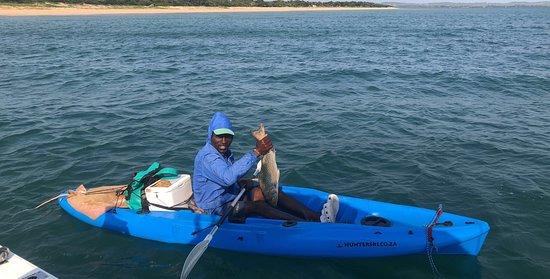 Inhaca Island, Moçambique: Sea kayaking