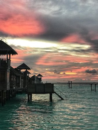 The only place to be in the Maldives!