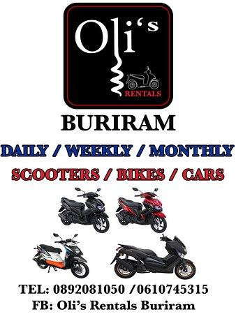 Motorbikes & Cars Rentals