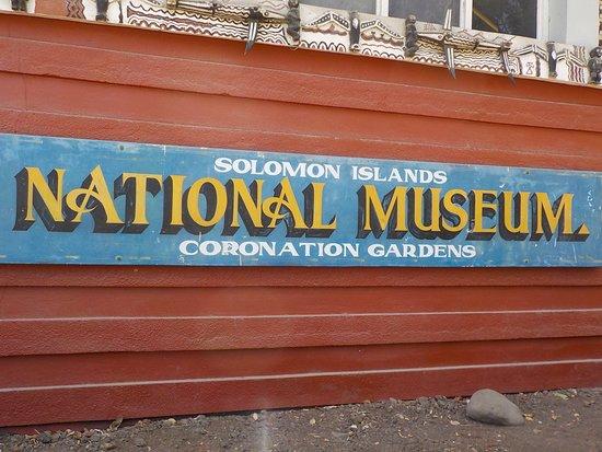 Honiara, Solomon Islands: Entrance  Sign