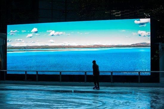 Ice Rink Canary Wharf
