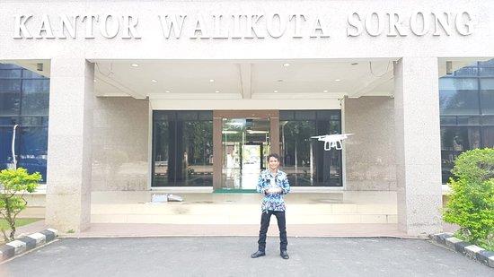 West Papua, Indonesien: Kantor walikota sorong Jl. Kurana remu utara